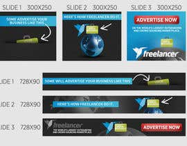 #69 para Banner Ad Design for Freelancer.com por firethreedesigns