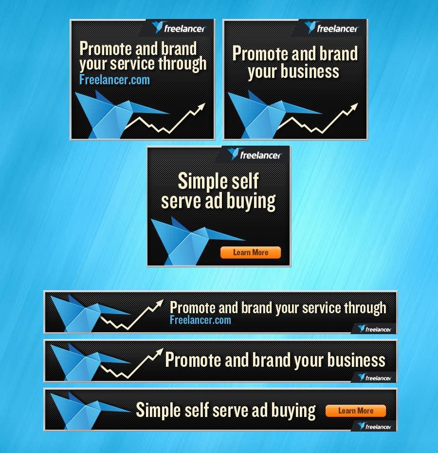 Inscrição nº                                         122                                      do Concurso para                                         Banner Ad Design for Freelancer.com