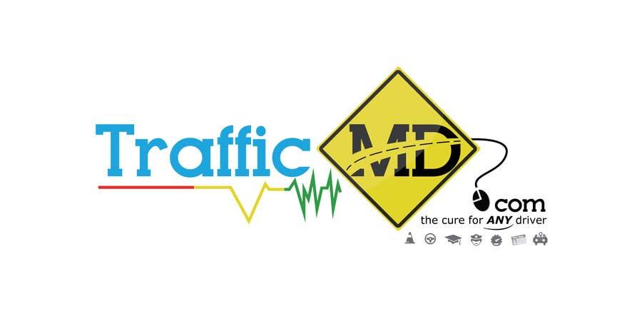 Kilpailutyö #                                        44                                      kilpailussa                                         Logo Design for TrafficMD.com