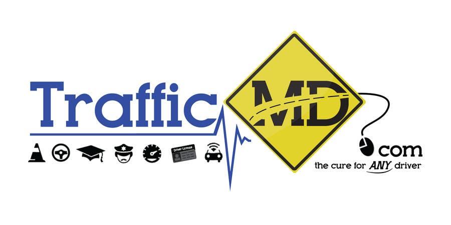 Kilpailutyö #                                        56                                      kilpailussa                                         Logo Design for TrafficMD.com