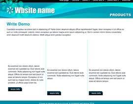 Nro 14 kilpailuun HTML/CSS DESIGN & Alignments käyttäjältä steeefon