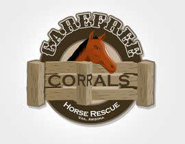 #21 for Logo Design for Carefree Corrals, a non-profit horse rescue. af rogeliobello
