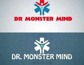 #43 for illustrative logo Dr.Monster Mind af nazma1996