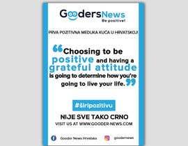 #64 для Flyer Design for Gooders News от miloroy13