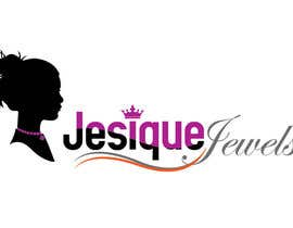 #113 para Logo Design for Jesique Jewels por imeshbd