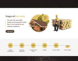 #52 for Create website for a fine woodworking by farabiislam888