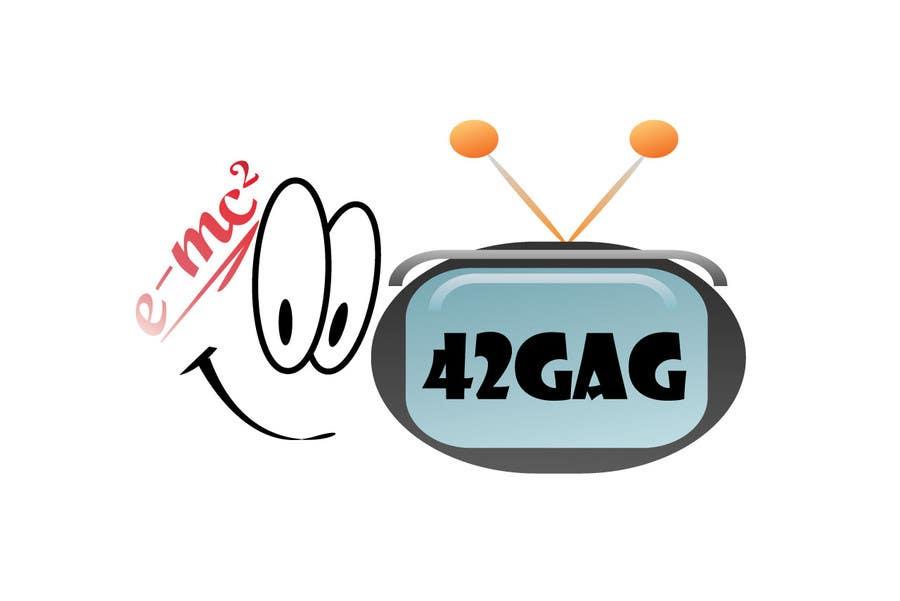 Penyertaan Peraduan #41 untuk Logo Design for sciency but funny image site: 42gag.com