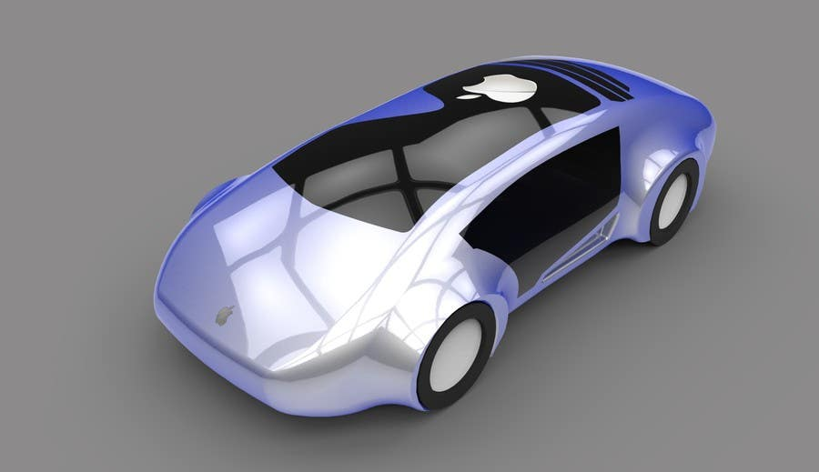 Contest Entry #                                        72                                      for                                         Create a design for the rumored Apple Electric Car