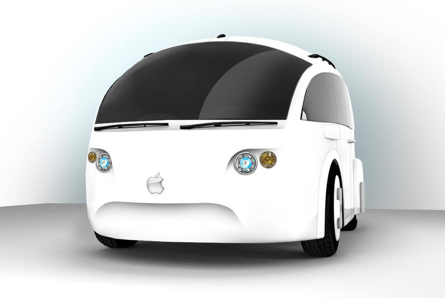 Contest Entry #                                        104                                      for                                         Create a design for the rumored Apple Electric Car