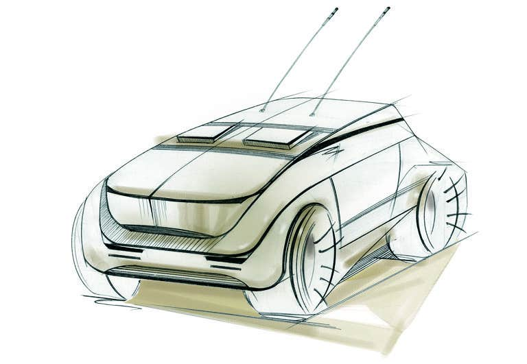 Contest Entry #                                        88                                      for                                         Create a design for the rumored Apple Electric Car
