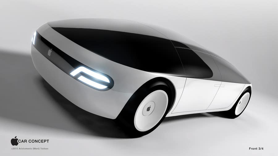 Contest Entry #                                        208                                      for                                         Create a design for the rumored Apple Electric Car