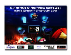 nº 33 pour OUTDOORS GIVEAWAY par irfananis07
