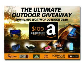nº 35 pour OUTDOORS GIVEAWAY par irfananis07
