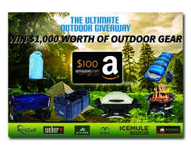 nº 42 pour OUTDOORS GIVEAWAY par irfananis07