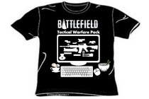 Proposition n° 13 du concours Graphic Design pour Battlefield Tactical Warfare Pack [Gaming] T-shirt Design