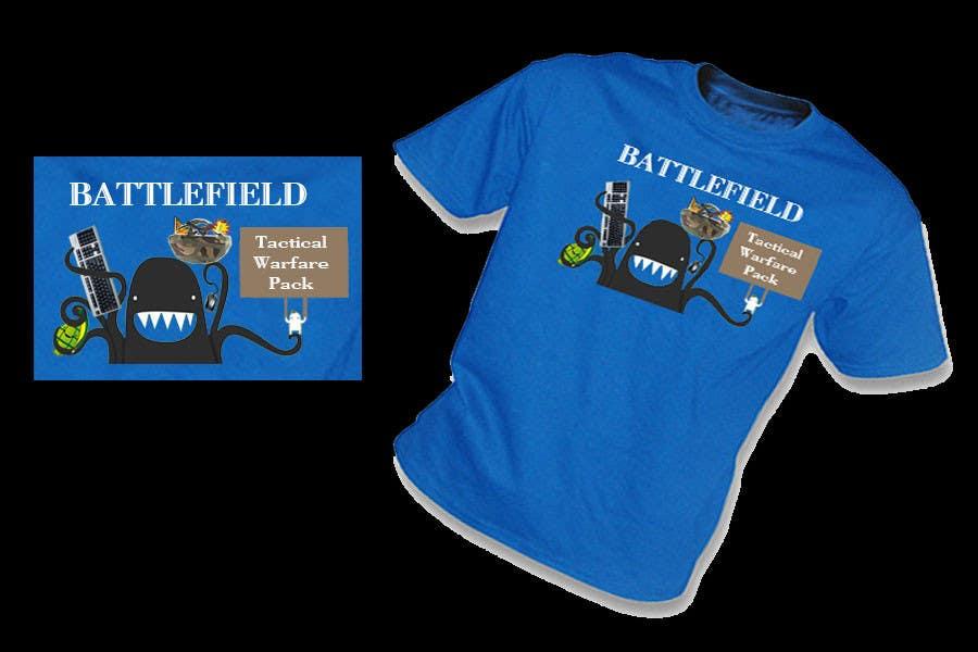 Proposition n°                                        21                                      du concours                                         Battlefield Tactical Warfare Pack [Gaming] T-shirt Design