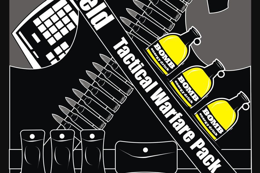 Proposition n°                                        60                                      du concours                                         Battlefield Tactical Warfare Pack [Gaming] T-shirt Design