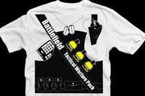 Proposition n° 29 du concours Graphic Design pour Battlefield Tactical Warfare Pack [Gaming] T-shirt Design