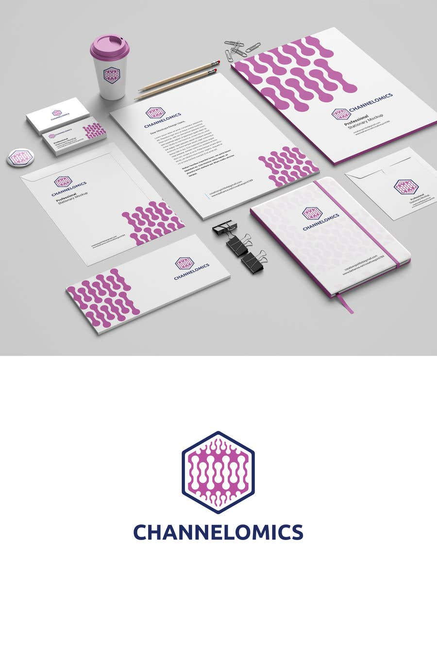 Proposition n°584 du concours Corporate Identity for a Biotech Startup.