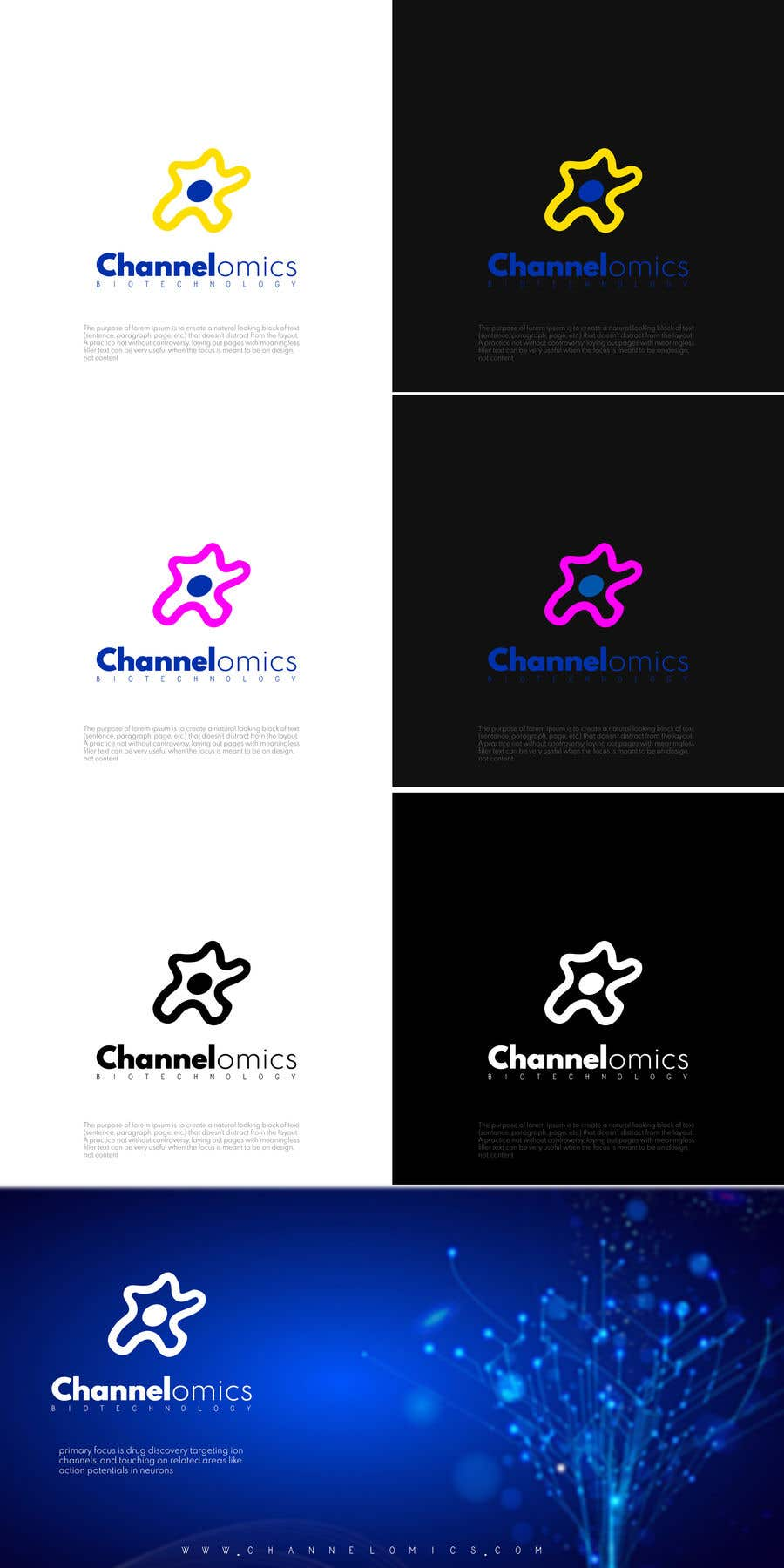 Contest Entry #392 for Corporate Identity for a Biotech Startup.