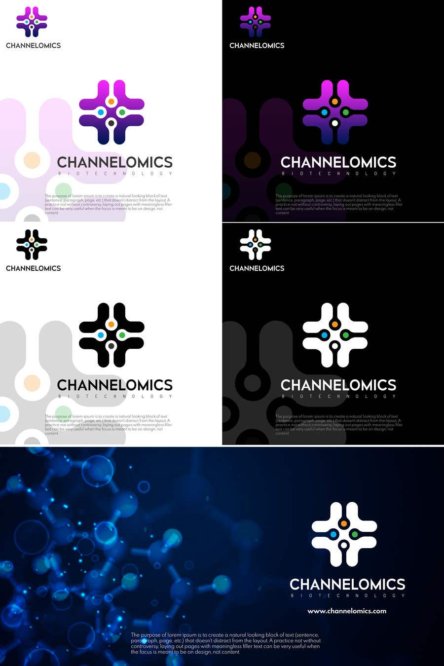 Proposition n°837 du concours Corporate Identity for a Biotech Startup.