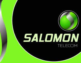 #156 para Logo Design for Salomon Telecom por photoshopkiller
