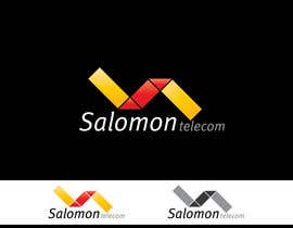 nº 151 pour Logo Design for Salomon Telecom par lukaslx