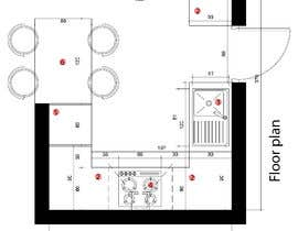 #21 para Kitchen plan de besiralwani