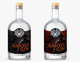 """#4 for I need a front lable for my gin """"Ghost Gin"""" af saurov2012urov"""