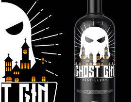 """#15 for I need a front lable for my gin """"Ghost Gin"""" af DacunhaFernando"""