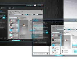 maximchernysh tarafından Graphics Designer to Convert Average UI to a Glass-Based UI için no 11