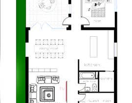 #17 for Give me a design Sketch for house extension and renovation. by benzbenz3d