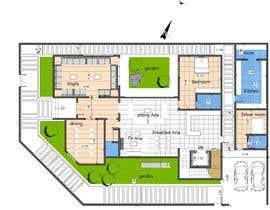 #24 for House Floor Plan by wafaakotb