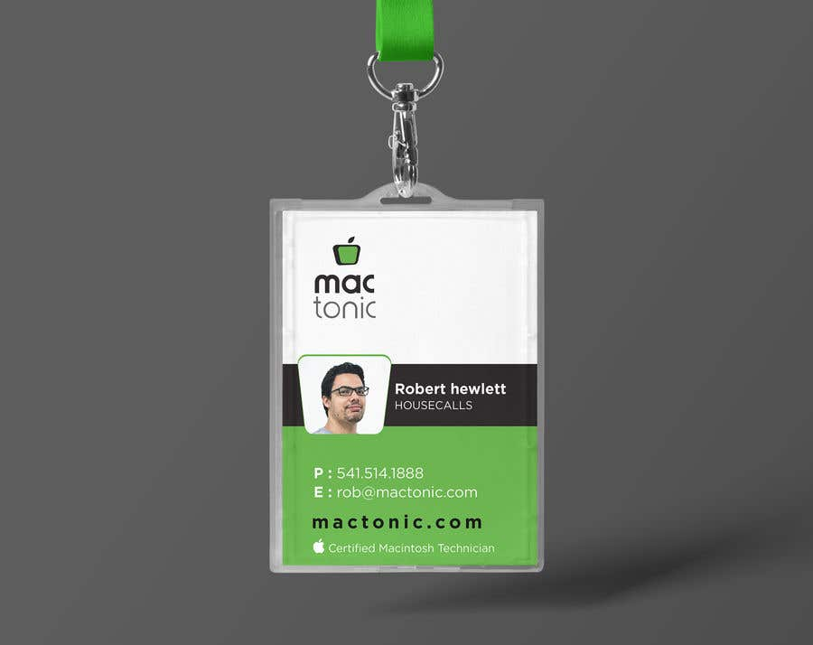 Entry 23 By Shiblee10 For Create Employee Id Badge Template