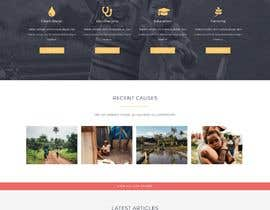 #10 for Design and Word press theme for Charity website by Soniakarim21