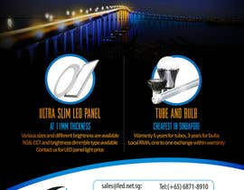#13 for Advertisement Design for LED lighting products. by creationz2011