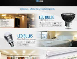 #5 for Advertisement Design for LED lighting products. af patrick12691