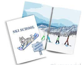 #35 untuk Front of Kids Progression booklet for ski school oleh jucpmaciel