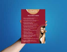 """Nro 17 kilpailuun Create a double sided """"Treatment"""" & """"Drinks"""" menu käyttäjältä DhanvirArt"""