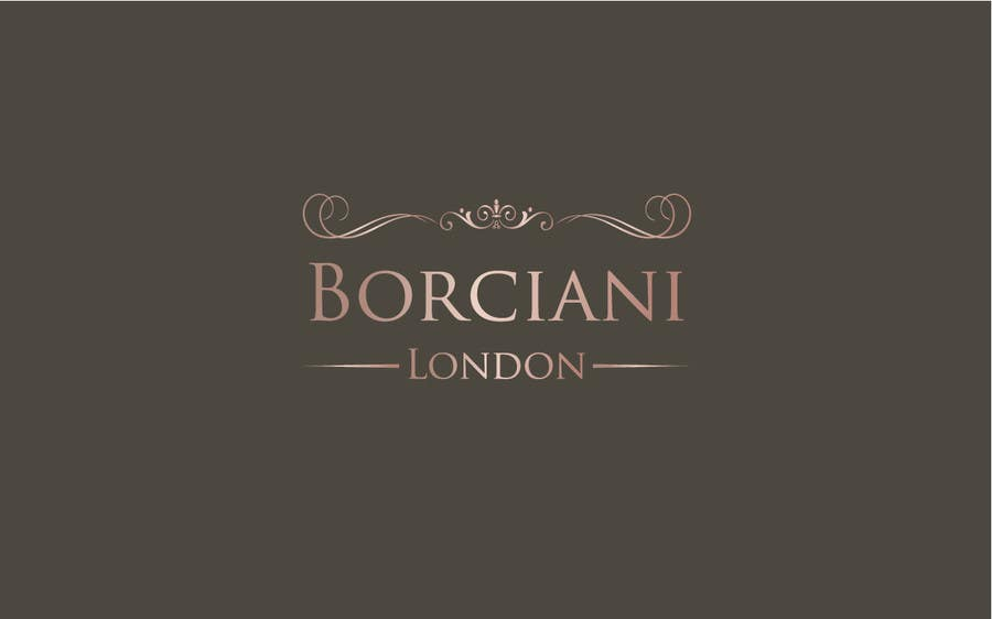 Penyertaan Peraduan #                                        174                                      untuk                                         Design a Logo for Borciani London