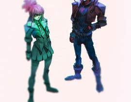 #61 para Need concept art design aesthetics for wizarding game por chosenonce