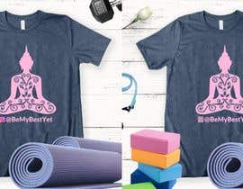 #39 for Yoga Shirt Designs af ConceptGRAPHIC