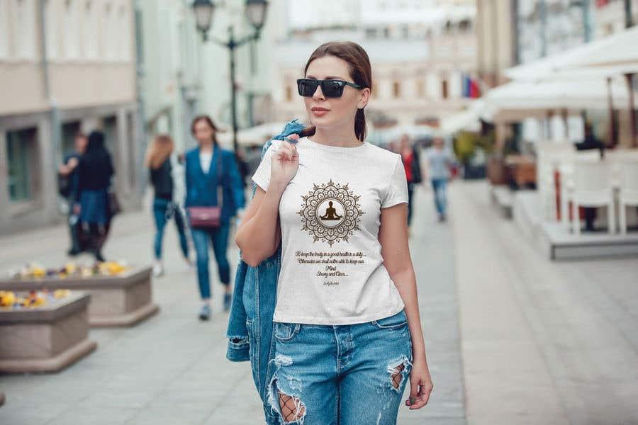 Entry 31 By Shimul8 For Yoga Shirt Designs Freelancer