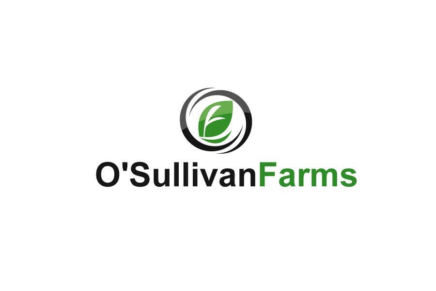Kilpailutyö #                                        123                                      kilpailussa                                         Logo Design for O'Sullivan Farms