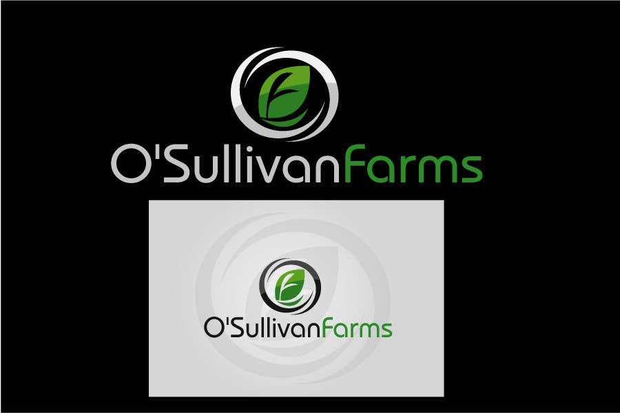 Kilpailutyö #                                        184                                      kilpailussa                                         Logo Design for O'Sullivan Farms