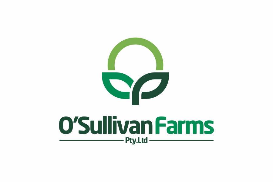 Proposition n°                                        148                                      du concours                                         Logo Design for O'Sullivan Farms