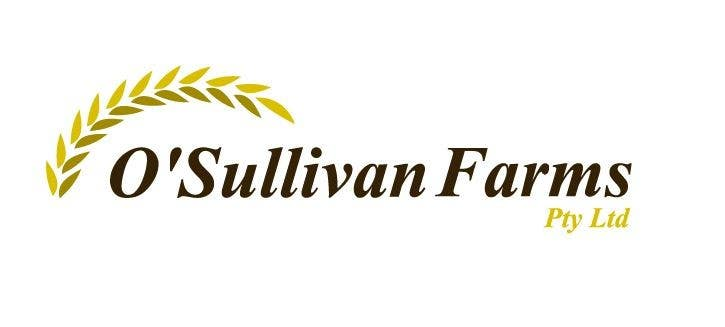 Proposition n°                                        126                                      du concours                                         Logo Design for O'Sullivan Farms