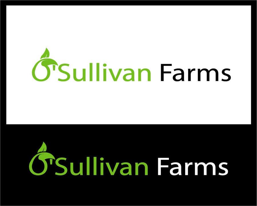 Kilpailutyö #                                        171                                      kilpailussa                                         Logo Design for O'Sullivan Farms