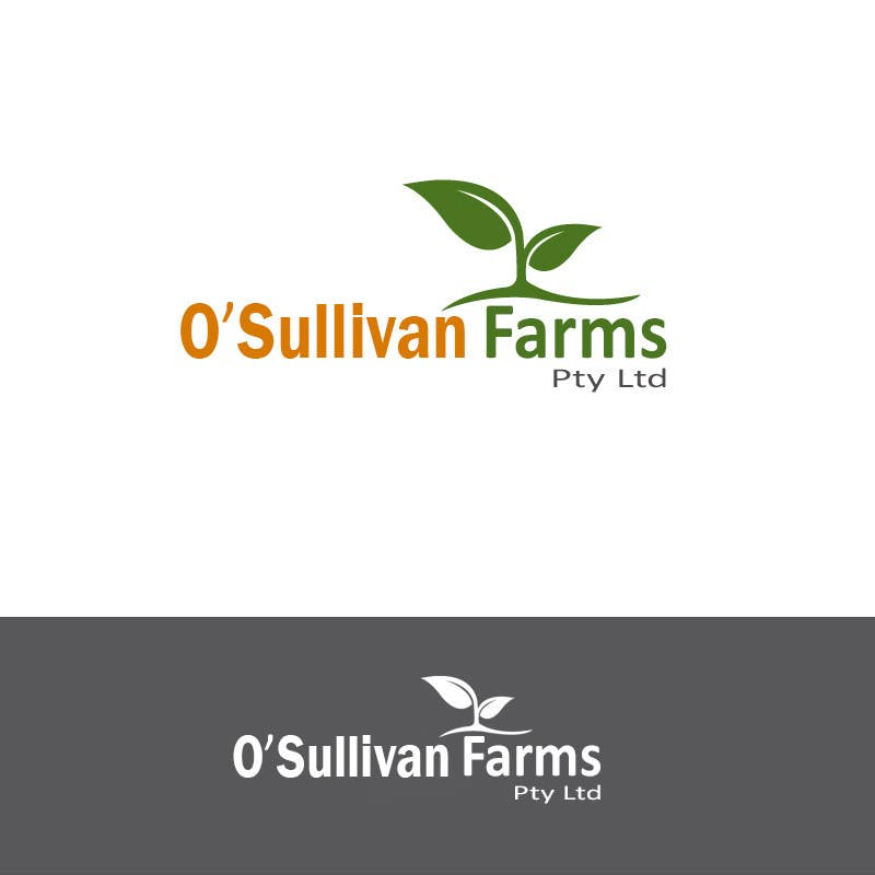 Proposition n°                                        58                                      du concours                                         Logo Design for O'Sullivan Farms