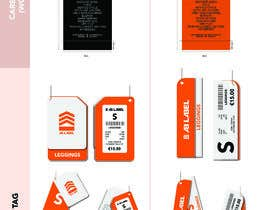 #13 for Develop tags for clothes - present concept, artwork and measurements af raihanzameer